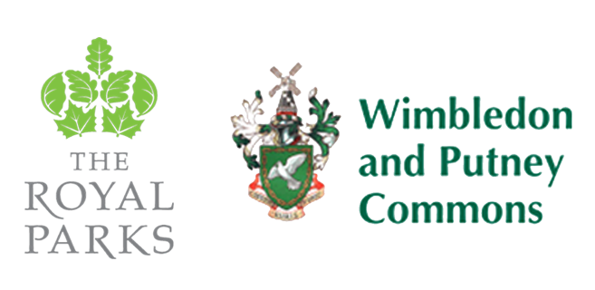 Royal-Parks-and-Wimbledon-and-Putney-Commons-logos