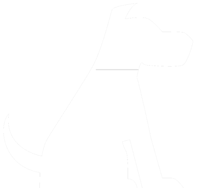 White dog icon